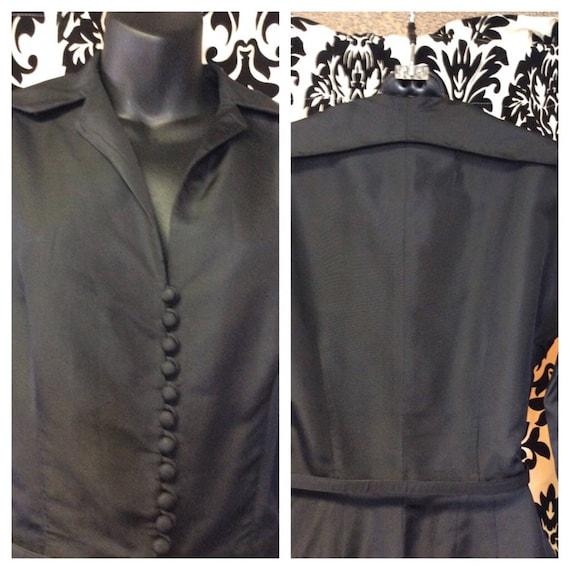 Stunning 40's Ceil Chapman Wiggle Dress - image 8