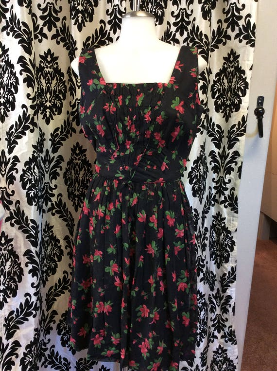 Pentas Flower Summer Dress