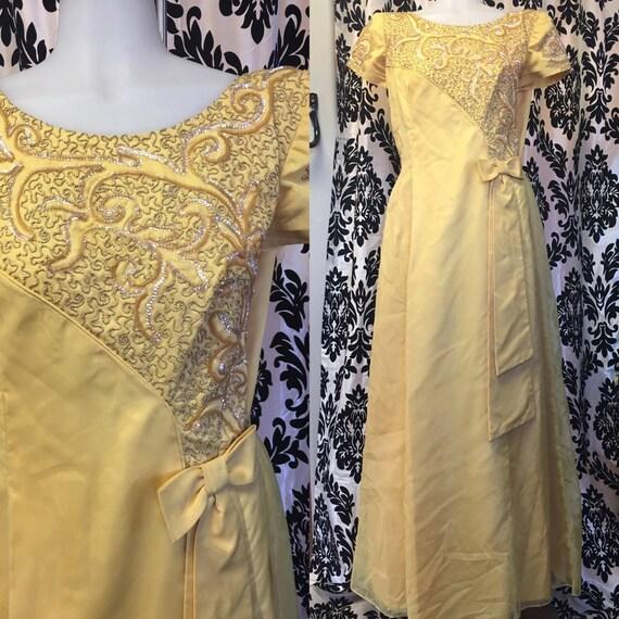 EMMA DOMB GOLDEN Goddess dress