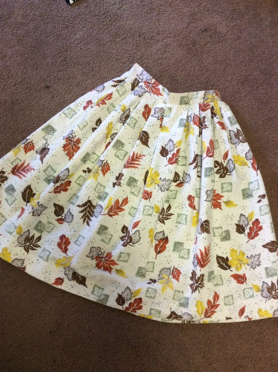 50's Thanksgiving Circle Skirt