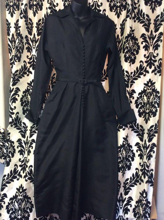 Stunning 40's Ceil Chapman Wiggle Dress