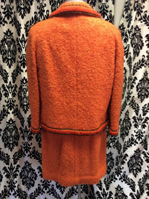 Unique Orange Lilli Ann 3 piece suit - image 5