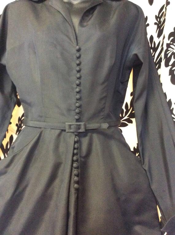 Stunning 40's Ceil Chapman Wiggle Dress - image 3
