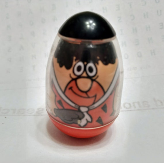 Fred Flintstone Weeble Wobble 1977rare Weeble Vintage Etsy