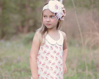 Sparrow's A-Line Halter Top, Tunic, and Dress PDF Pattern Sizes 6-12m to 8 girls