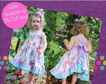 9e8a424a6 Baby Kara s Triple Ruffle Pants PDF Pattern Sizes Newborn
