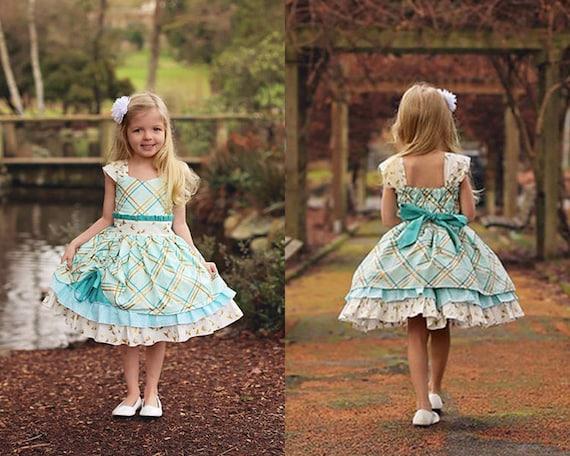 Larkin S Fancy Party Dress Pdf Pattern Sizes 6 12m To 8 Etsy