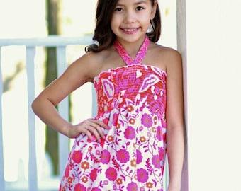 Ruby's Tween Sun Top PDF Pattern size 7/8 to 15/16 girls