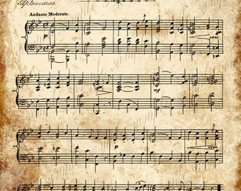 photo about Christmas Carols Sheet Music Free Printable referred to as Grungy Outdated Common Xmas Carol Tunes Immediate Printable