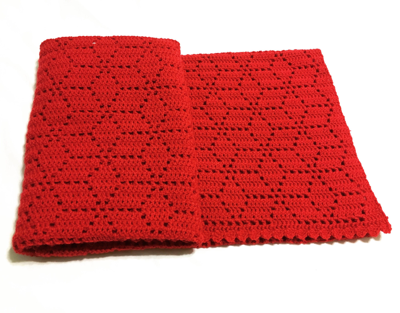Crochet Afghan Pattern Tumbling Blocks Etsy