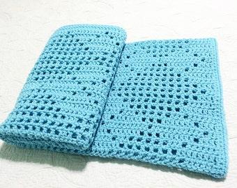 Crochet Afghan Pattern Argyle