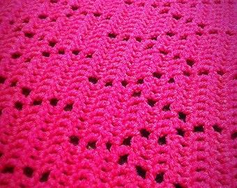 Crochet Blanket Pattern Wishbone