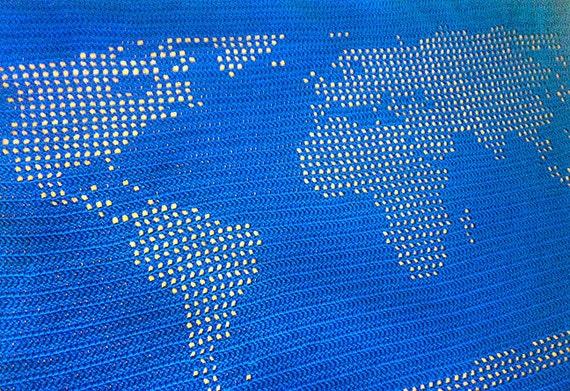 Weltkarte der afghanischen Muster häkeln | Etsy