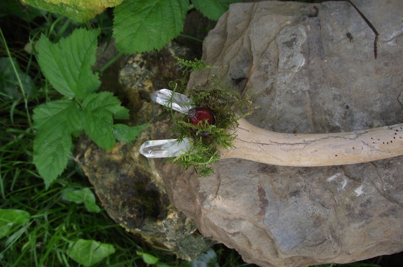 Forest faerie wand  Pagan  Fairy Woodland magic  Earth image 0