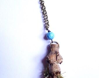 Fehu rune dryad pendant-viking-pagan-witch-norse magic-abundance-new beginnings-fairy-Freya-goddess-Freyr-God