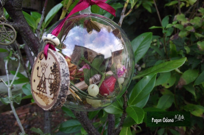 Sami shaman witch ball Witch enchanted ball for healing  image 0