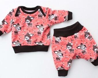 DUCKIE Children Baby Boy Girl Shirt and Pants sewing pattern Pdf, Knit Jersey Pajama, Kids toddler, newborn 3 6-9 12 18m 2 3 4 5 6 years