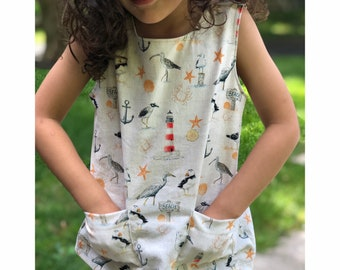 63fe8fab0 PEPPY Top, Boy Girl Baby Top Pdf sewing pattern/ UNISEX with Straps/ Woven  Toddler Top Blouse, newborn up to 10 years INSTANT Download