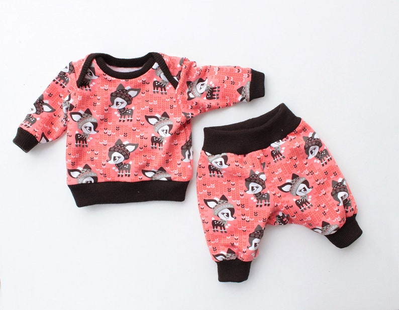 BUNDLE DUCKIE Children Baby Boy Girl Shirt and Pants pattern image 0