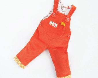LITTLE BIRDS Baby Romper sewing pattern Pdf , Overall Dungaree,  children babies toddler, Baby Girl Boy newborn 3 6 9 12 18 months 2 years