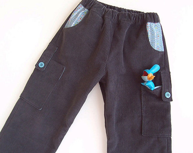 Smart Pants Boy Pants Sewing Pattern Pdf With Pockets Easy Etsy