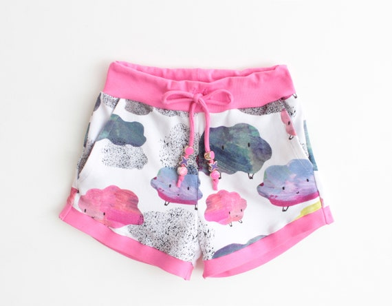 Sprinkle Girl Baby Girl Shorts Sewing Pattern Pdf Jersey Knit Etsy
