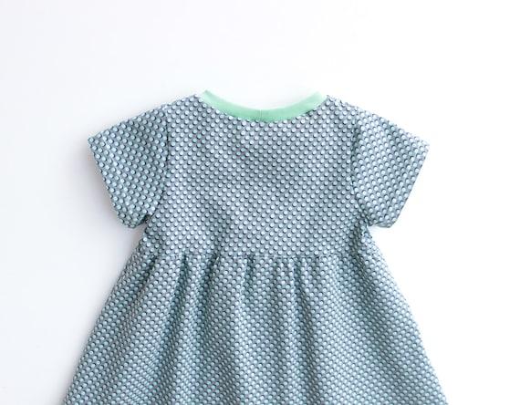 Dotty Girl Baby Girl Dress Sewing Pattern Pdf Knit Jersey Etsy