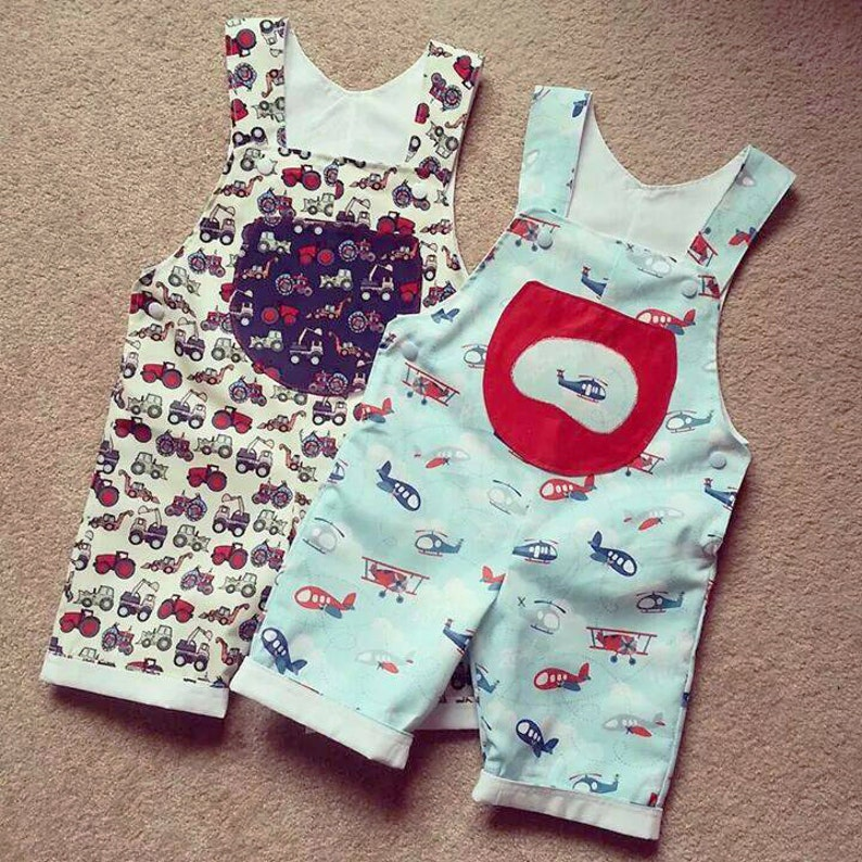 e55f7400ac2c Baby Romper sewing pattern Pdf Overall Dungaree pattern