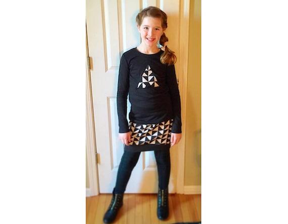 Girl Skirt Sewing Pattern Pdf Easy Knit Skirt Pattern Etsy