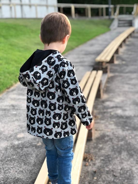 3c1f29051 Children Reversible Hooded Jacket sewing pattern Pdf