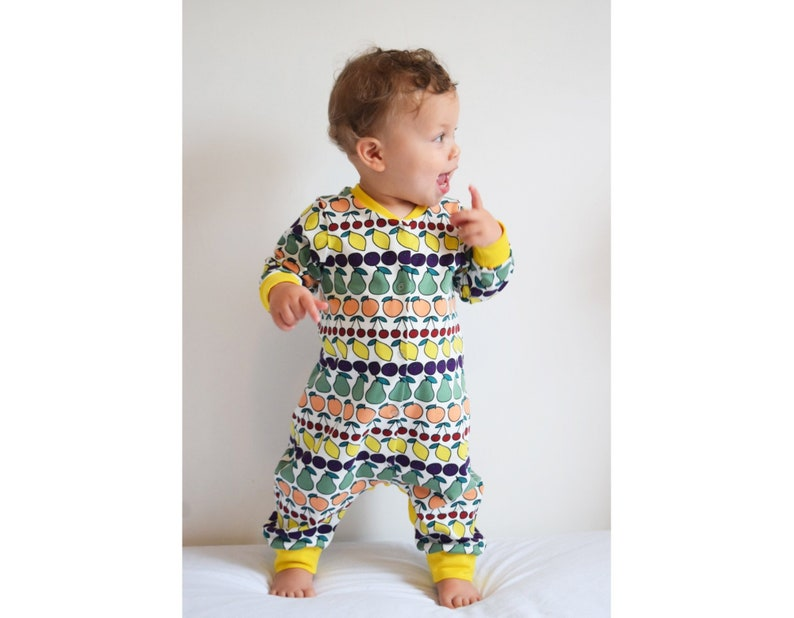7af530be7f6a Jersey AND Woven Romper Baby Boy and Girl Romper Pajamas