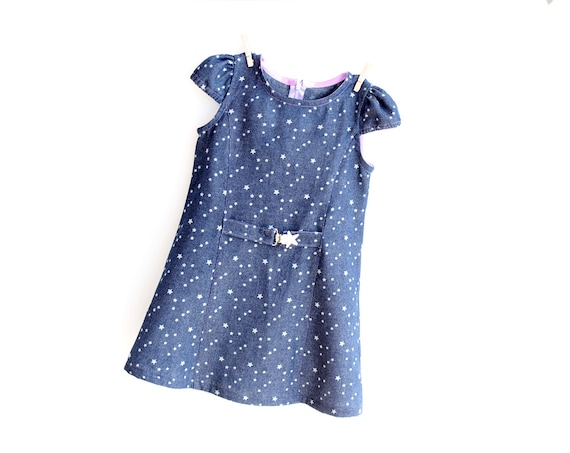 STARRY Girl Dress pattern Pdf sewing Cap Sleeves Princess | Etsy