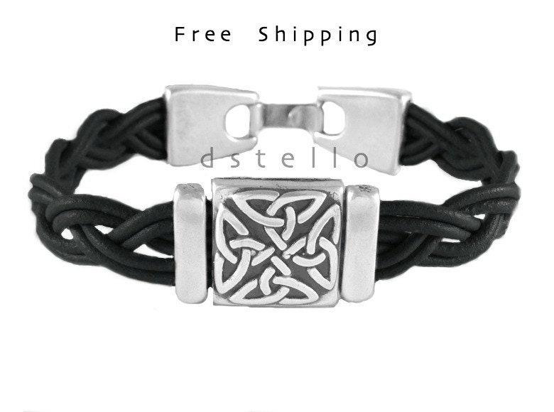 cadeaux f te des p res bracelet homme bracelet en cuir. Black Bedroom Furniture Sets. Home Design Ideas