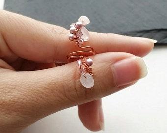 No Piercing Ear Cuff - Fake Conch Ring - Faux Piercing - Conch Ear Cuff - Faux Piercing Jewelry