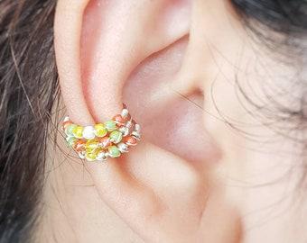 Hoop Ear Cuff Set - Conch Ear Cuff  - No Piercing Ear Cuff