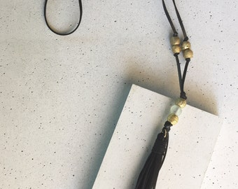 The Gilliam Tassel Necklace