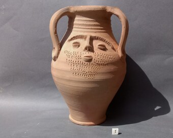 Replica Roman Head Pot - Large