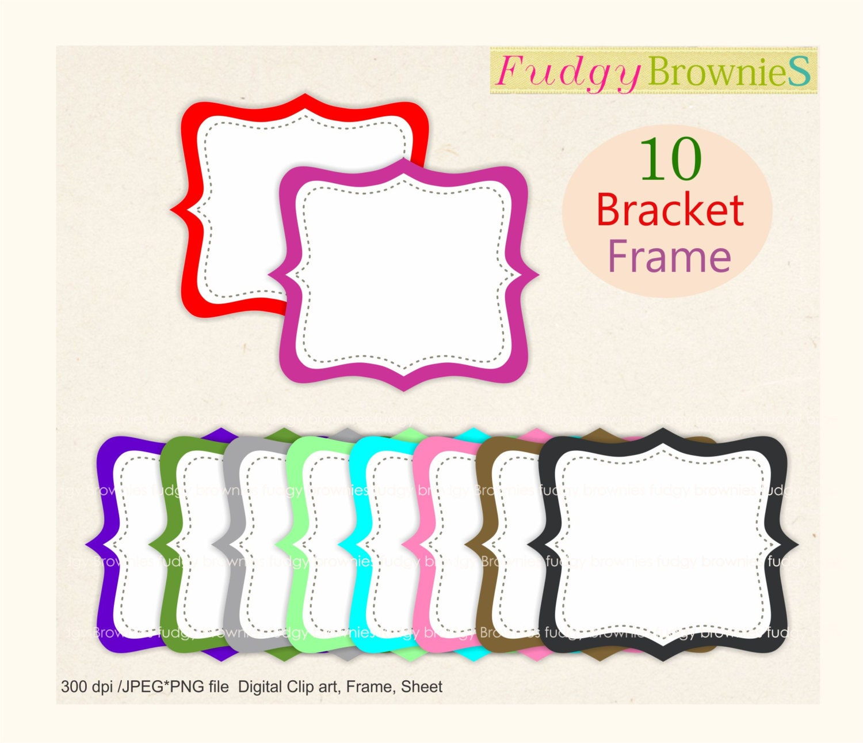 AUF Verkauf Rahmen ClipArt / / Digital Clip Art Rahmen   Etsy