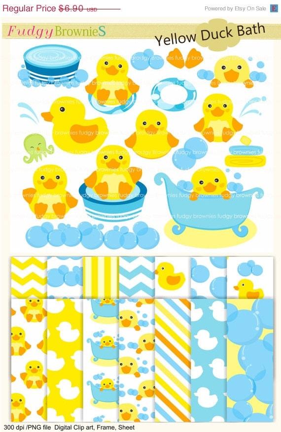 AUF Verkauf Ente ClipArt einlädt Ente Digital Paper Pack Ente | Etsy