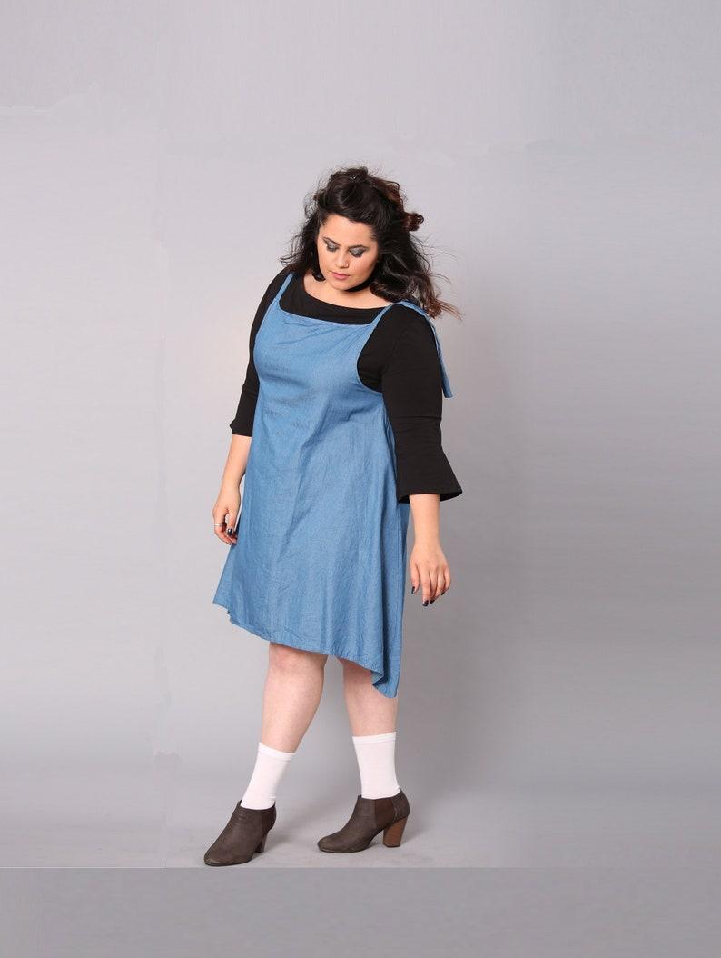 Womens Plus Size Blue Jean Dresses – DACC