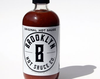 Brooklyn Original Hot Sauce, Small Batch, Handcrafted, Spicy, Great gift, Brooklyn Made
