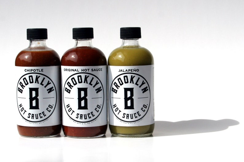 Brooklyn Hot Sauce 3 Pack Small Batch Handcrafted Great image 0