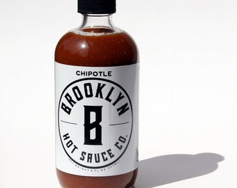Chipotle Hot Sauce, Small Batch, Handcrafted, Great gift, Chipotle, Spicy, Great Gift