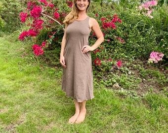 Hemp Dress Organic Stretch Soft and Sturdy