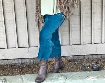 Organic Skirt Velour Long Maxi