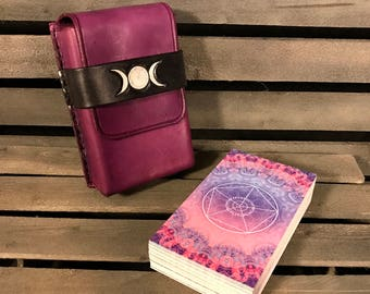 Lavender Moon Tarot Card Case