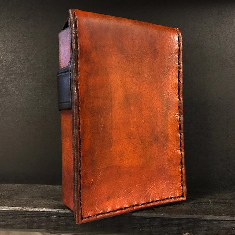 Autumn Leather Card Case
