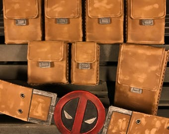 Deadpool Inspired Costume Pouches