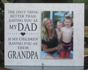 Grandpa Gift (SELECT ANY GRANDFATHER Name), Grandpa Frame, Grandpa Picture Frame, Grandpa Photo Frame, Saying and Paper Choice, 4x6 photo