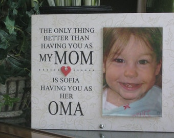 ee576fe89 Oma Gift (SELECT ANY GRANDMOTHER Name), Oma Frame, Oma Picture Frame, Oma  Photo Frame, Personalized Oma Gift, 4x6 photo